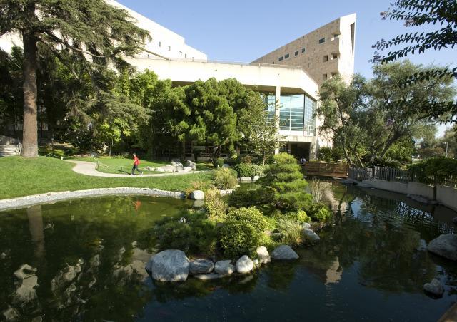Cal Poly Pomona's Aratani Japanese Garden, designed by Professor Emeritus Takeo Uesugi