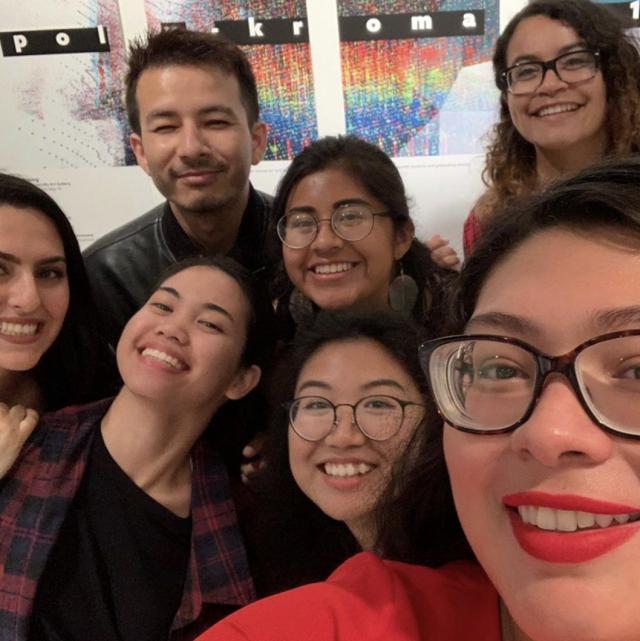 University Art Galleries student staff, PolyKroma 2019