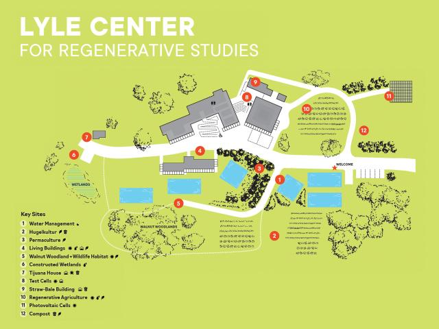 Learn the history of the Lyle Center by visiting 12 key sites