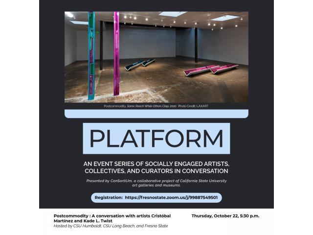 PLATFORM: Postcommodity: A conversation with artists Cristobal Martinez and Kade L. Twist