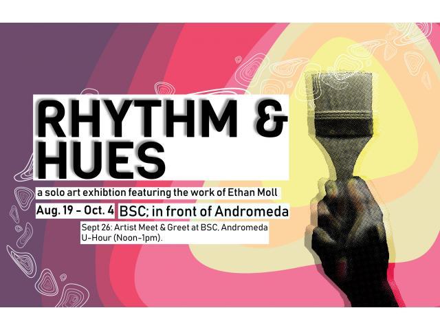 Rhythm & Hues: Artist Meet & Greet on Sept. 26 at the Bronco Student Center