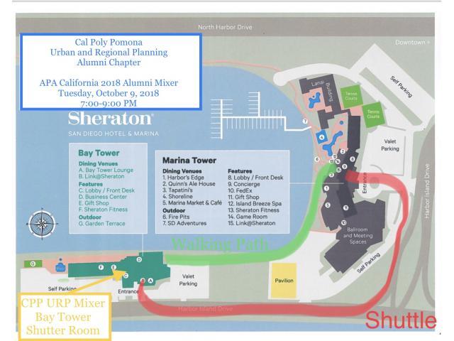 URP Alumni Chapter Mixer at the Sheraton San Diego - October 9, 7-9pm