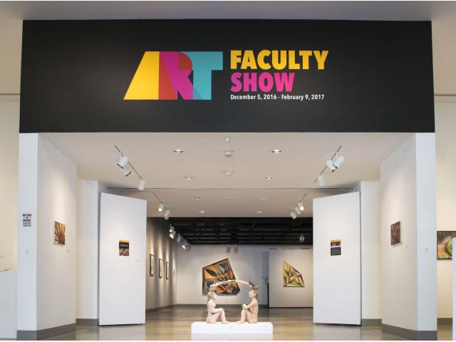 Art Faculty Art Show at the Kellogg University Art Gallery. Dec. 5, 2016-Feb. 9, 2017.