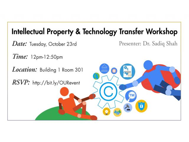 Intellectual Property Workshop - Oct. 23, 2018
